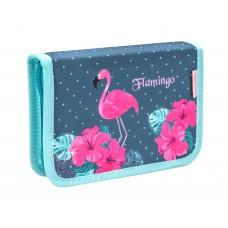Пенал Belmil Flamingo Paradise, без наполнения
