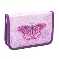 Пенал Belmil Shiny Butterfly, без наполнения