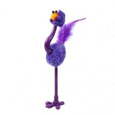 Ручка шариковая Страус фиолетовый