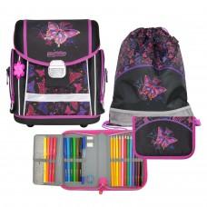 Ранец школьный Magtaller Evo - Rainbow Butterfly, с наполнением