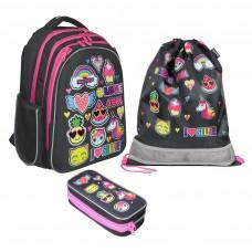 Рюкзак школьный Magtaller Stoody II - Stickers, с наполнением