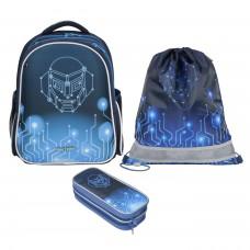 Рюкзак школьный Magtaller Stoody II - Robo, с наполнением