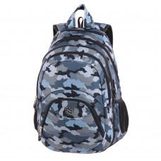 Рюкзак Pulse 2в1 Teens Gray Army, серый