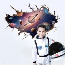 Наклейки на стену Космос Галактика 50х70 см