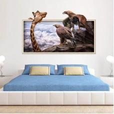 Наклейки на стену Животные Африка 60х90 см