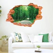 Наклейки на стену Природа В лесу 60х90 см