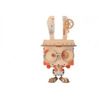 3D деревянный пазл Robotime Кашпо Кролик