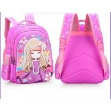Рюкзак школьный - Принцесса, розовый