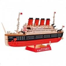 3D деревянный пазл - Титаник