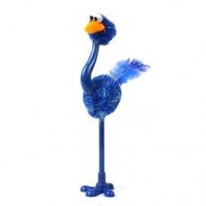 Ручка шариковая Страус синий