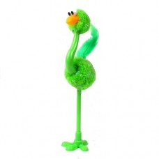 Ручка шариковая Страус зеленый