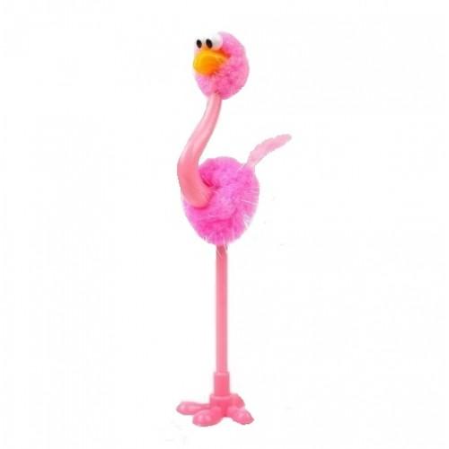 Ручка шариковая Страус розовый