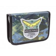 Пенал Belmil - Camouflage, зеленый