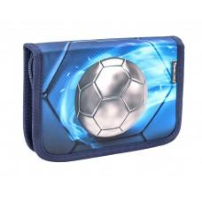 Пенал Belmil - Football 4, голубой