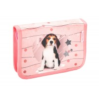 Ранец Belmil Mini-Fit - Lovely Beagle, Щенок, розовый, с наполнением