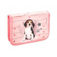 Пенал Belmil - Lovely Beagle, Щенок, розовый