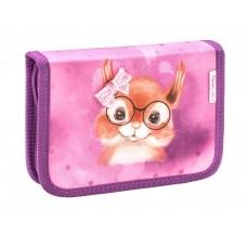 Пенал Belmil - Sweet Squirrel, Белочка, розовый