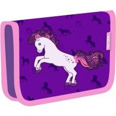 Пенал Belmil Horse Purple без наполнения