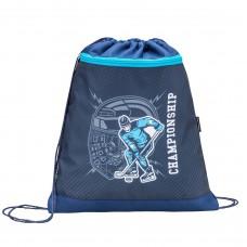 Мешок для обуви Belmil - Hockey, Хоккей, синий