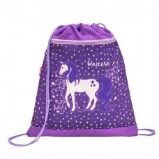 Мешок для обуви Belmil - Believe In Magic Purple, Единорог, фиолетовый
