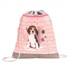 Мешок для обуви Belmil - Lovely Beagle, Щенок, розовый