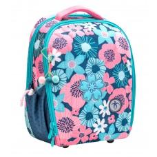 Ранец Belmil Sturdy - Floral Цветы, голубой