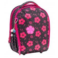 Ранец Belmil Sturdy - Ladybug Цветы/Божья коровка, розовый