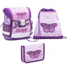 Ранец Belmil Classy - Shiny Butterfly с наполнением