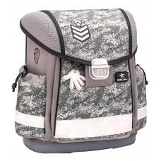 Ранец Belmil Classy - Camouflage Grey, серый