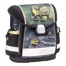 Ранец Belmil Classy - Dino Park, Динозавр, зеленый