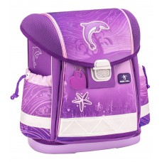 Ранец Belmil Classy - Dolphin Purple, Дельфин, розовый
