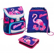 Ранец Belmil Mini-Fit - Flamingo с наполнением
