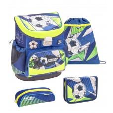 Ранец Belmil Mini-Fit - Football Rournament, Футбол, синий, с наполнением