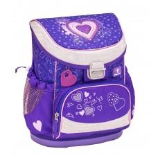 Ранец Belmil Mini-Fit - Love Purple, Сердце, фиолетовый