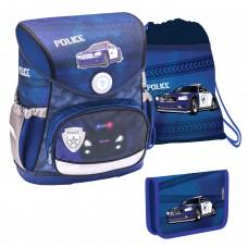 Ранец Belmil Compact - Police, Машина, синий, с наполнением