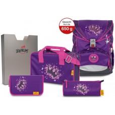 Ранец DerDieDas Ergoflex SuperLight с наполнением Purple Princess - Фиолетовая принцесса