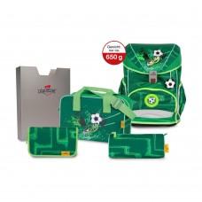 Ранец DerDieDas Ergoflex SuperLight с наполнением Green Goal - Футбол на траве
