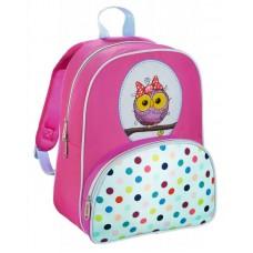 Рюкзак детский Hama Sweet Owl розовый/голубой