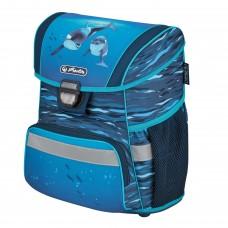 Ранец школьный Herlitz Loop Oceanside, Дельфин, синий