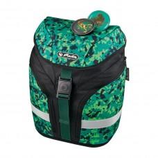 Ранец Herlitz Softlight Camouflage, зеленый