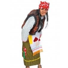 Карнавальный костюм Карнавалофф - Баба Яга дремучая, взрослый, размер М (46-48)