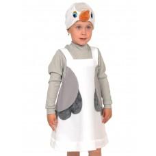 Карнавальный костюм Карнавалофф - Цапля, ткань-плюш, 3-6 лет