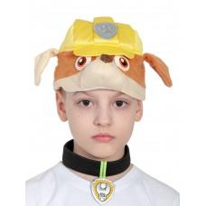 Карнавальная маска Карнавалофф - Крепыш серия Щенячий патруль, 52-54см