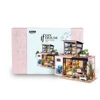 3D деревянный конструктор Миниатюрный дом Студия Кевина