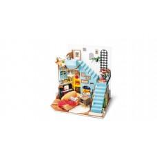 3D деревянный конструктор Миниатюрный дом Гостиная Джоя