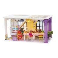 3D деревянный конструктор Миниатюрный дом Время веселиться