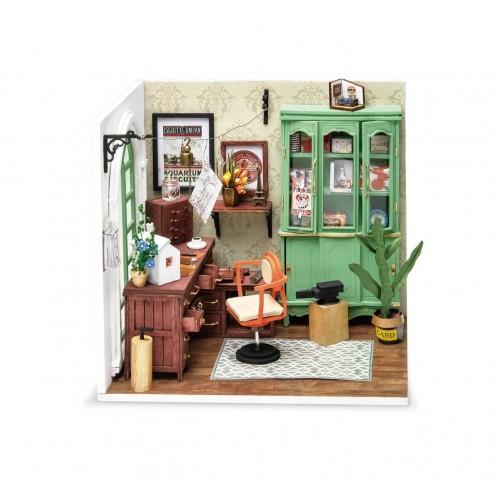 3D деревянный конструктор Миниатюрный дом Студия Джимми
