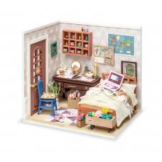 3D деревянный конструктор Миниатюрный дом Столовая миссис Чарли