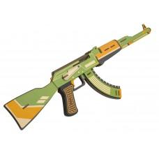 3D деревянный конструктор Robotime Штурмовая винтовка АК-47