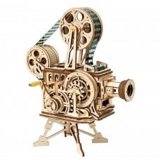 3D деревянный конструктор Robotime Механизмы работающие Кинопроектор